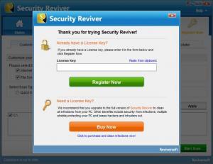 Enlarge Security Reviver Screenshot