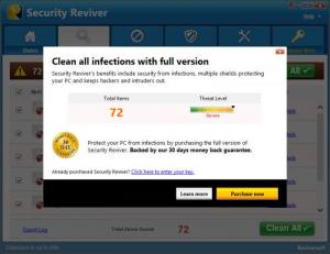 Enlarge Security Reviver Screenshot