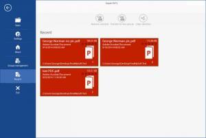 Enlarge Simple PDFs Screenshot