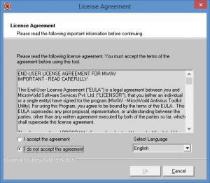 Enlarge eScanAV Anti-Virus Toolkit Screenshot