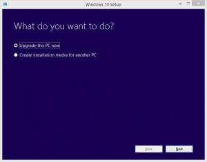 Enlarge Windows 10 Media Creation Tool Screenshot