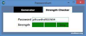 Enlarge Passwordium Screenshot