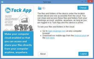 Enlarge StoAmigo TackApp Screenshot