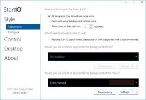 Enlarge Start10 Screenshot