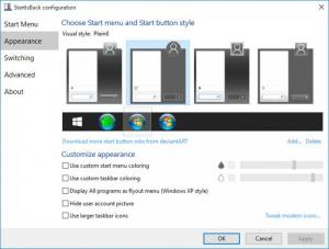Enlarge StartIsBack++ Screenshot