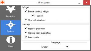 Enlarge Ghostpress Screenshot