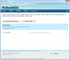 Enlarge PicBackMan Screenshot
