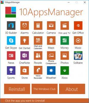 Enlarge 10AppsManager Screenshot