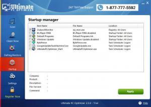 Enlarge Ultimate PC Optimizer Screenshot