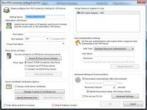 Enlarge SoftEther VPN Client + VPN Gate Client Plugin Screenshot