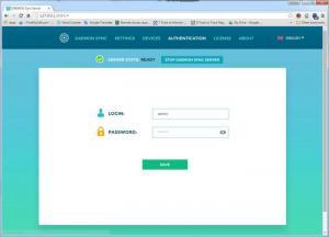 Enlarge DAEMON Sync Screenshot