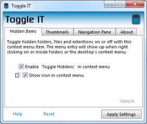 Enlarge Toggle IT Screenshot
