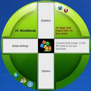 Enlarge PC WorkBreak Screenshot