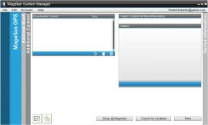 Enlarge Magellan Content Manager Screenshot