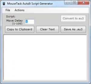 Enlarge MouseTask Screenshot