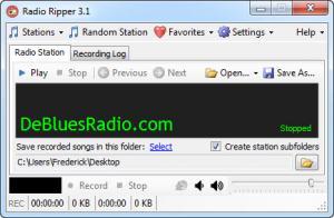 Enlarge Radio Ripper Screenshot
