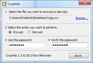 Enlarge Cryptola Screenshot