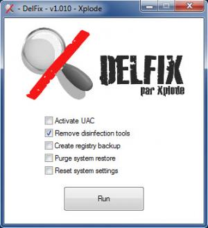 Enlarge Delfix Screenshot