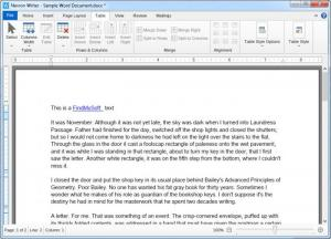 Enlarge Nevron Writer Screenshot