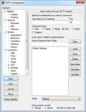 Enlarge KiTTY Screenshot
