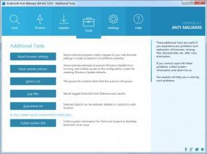 Enlarge GridinSoft Anti-Malware Screenshot
