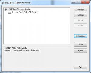 Enlarge Dev Eject Screenshot
