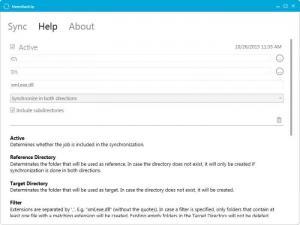 Enlarge MetroBackUp Screenshot