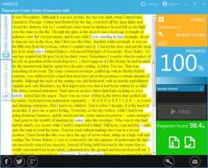 Enlarge NBridge Plagiarism Finder Screenshot