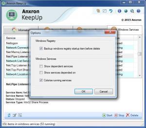 Enlarge Anxron KeepUp Screenshot