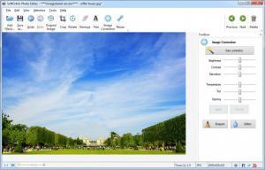 Enlarge SoftOrbits Photo Editor Screenshot