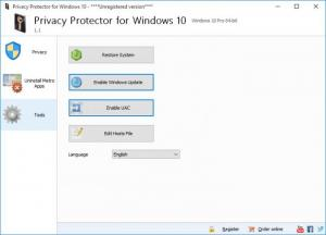 Enlarge Privacy Protector for Windows 10 Screenshot