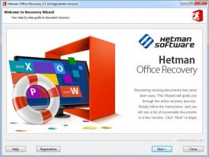 Enlarge Hetman Office Recovery Screenshot