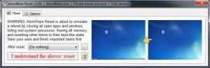 Enlarge AlomWare Reset Screenshot
