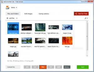 Enlarge ReaConverter Lite Screenshot