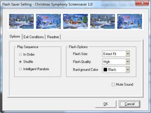 Enlarge Christmas Symphony Screensaver Screenshot