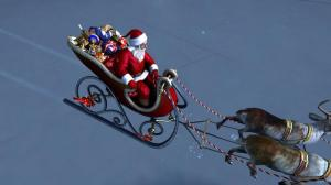 Enlarge Santa Claus 3D Screensaver Screenshot