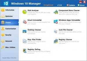 Enlarge Windows 10 Manager Screenshot