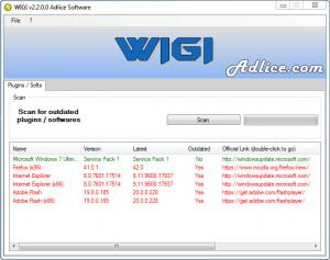 Enlarge WhyIGotInfected (WIGI) Screenshot