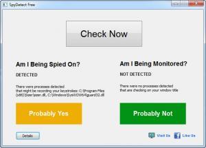 Enlarge SpyDetect Free Screenshot