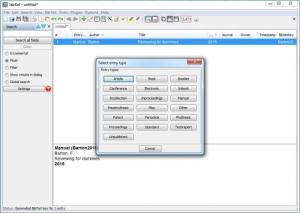 Enlarge JabRef Screenshot