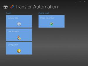 Enlarge Transfer Automation Screenshot