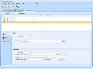 Enlarge Transfer Automation Screenshot