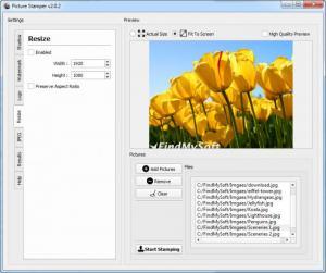 Enlarge Picture Stamper Screenshot