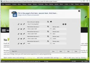 Enlarge Grafx Website Studio Screenshot