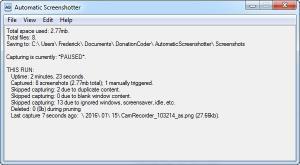 Enlarge Automatic Screenshotter Screenshot