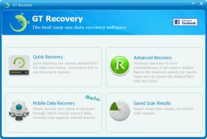 Enlarge GT Recovery Screenshot