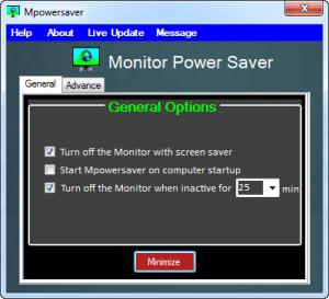 Enlarge MpowerSaver Screenshot