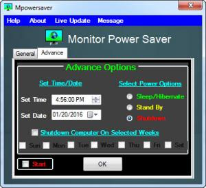 Enlarge MpowerSaver Screenshot
