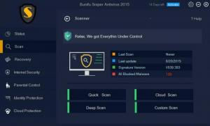 Enlarge Bunifu Sniper Antivirus Screenshot