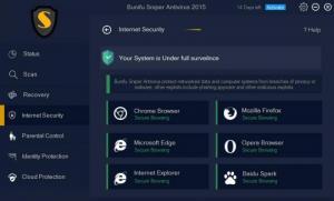 Enlarge Bunifu Sniper Antivirus Screenshot